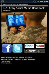 US Army Social Media Handbook - screenshot thumbnail