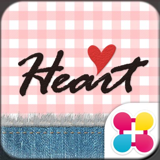 Cute Theme-Gingham Heart- Icon