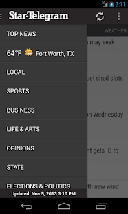 Ft Worth Star-Telegram News - screenshot thumbnail