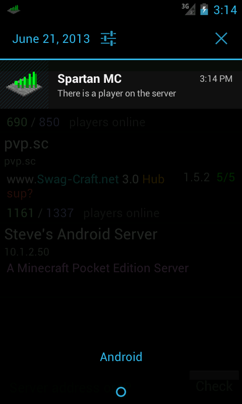 Server Status Pro - screenshot