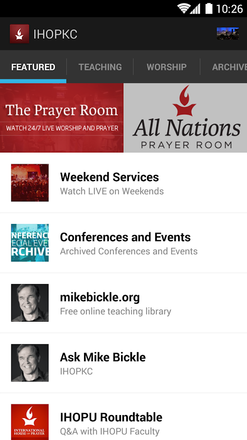 International House of Prayer - screenshot