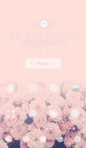 romantic arpeggio 도돌런처 테마|玩個人化App免費|玩APPs