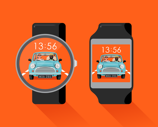 Driving watchface by Neroya