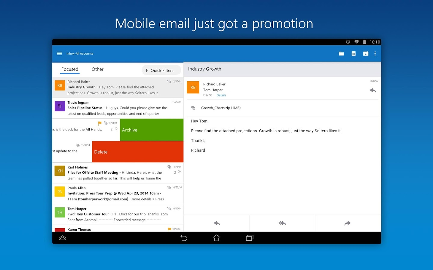 Microsoft Outlook Android Apps On Google Play