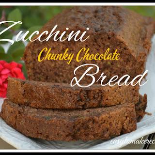 Chunky Chocolate Zucchini Bread