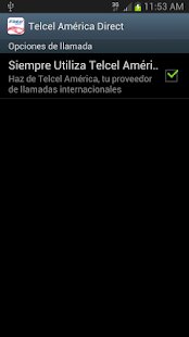 Telcel America Direct Int'l - screenshot thumbnail