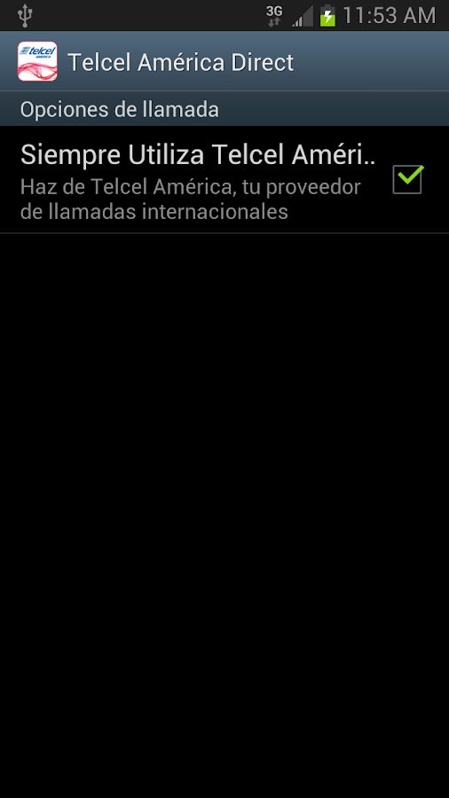 Telcel America Direct Int'l - screenshot