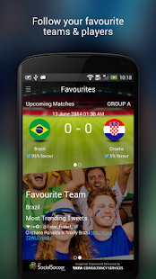 TCS SocialSoccer - screenshot thumbnail