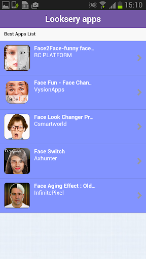 Looksery Android apps