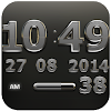 Digi Clock Widget Iron Sun APK Icon