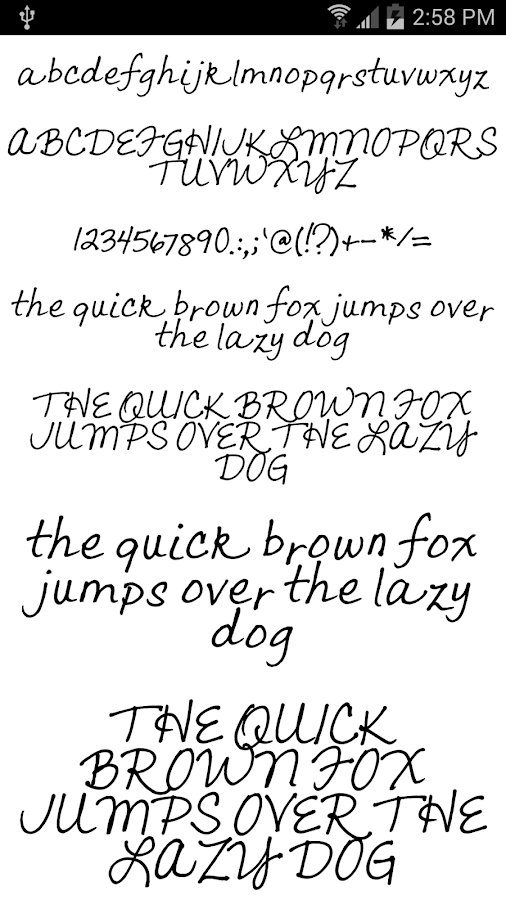 Fonts for FlipFont #18- screenshot