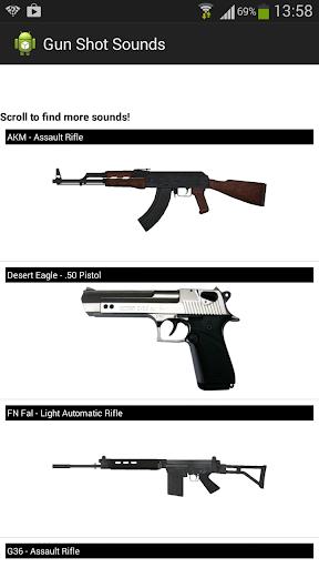 【免費娛樂App】Gun Shot Sounds-APP點子