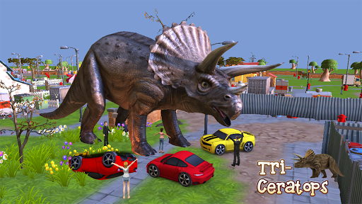 Triceratops 3D Dinosaur Sim