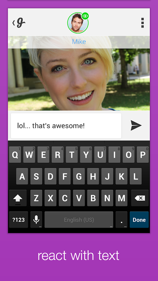 Glide - Live Video Messaging - screenshot