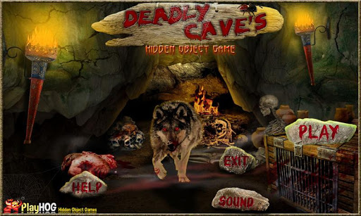 Deadly Caves - Hidden Objects