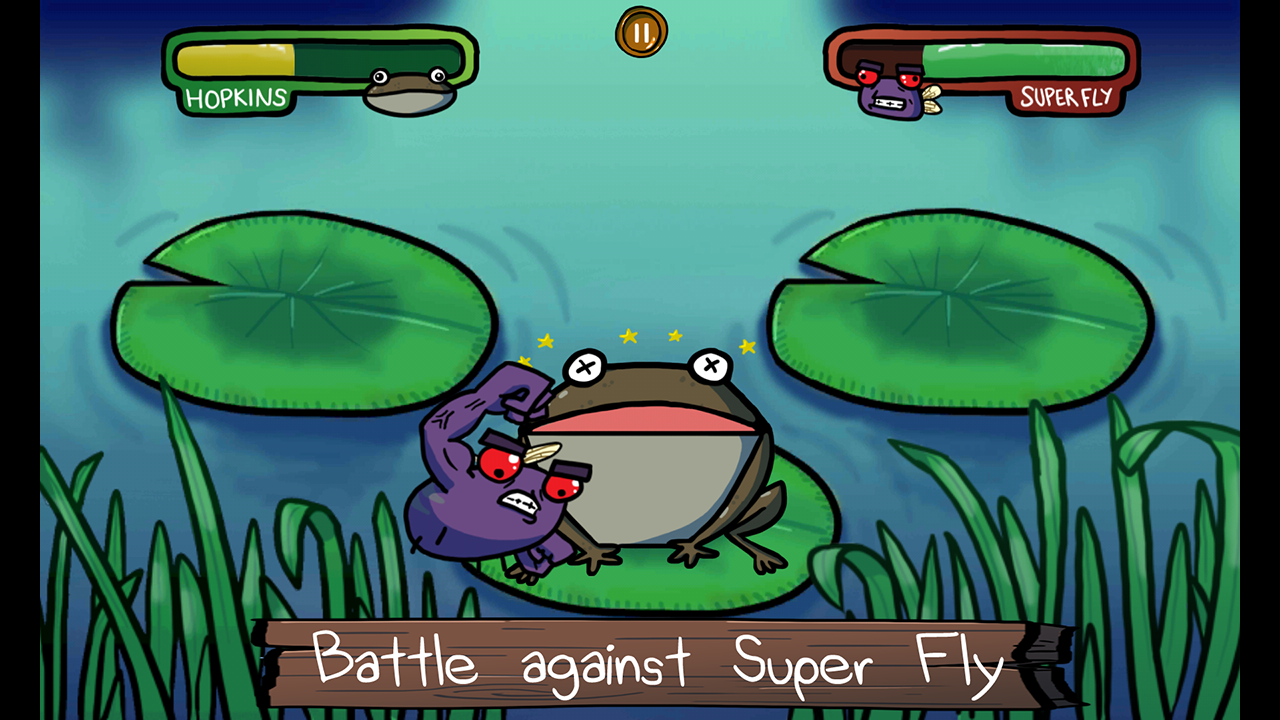 Frantic Frog- screenshot