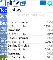 Screenshot of Runner - GPS Speed Distance