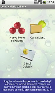 Conta Calorie Italiano DEMO - screenshot thumbnail