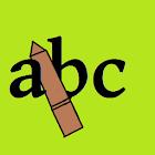 Write ( ABC  123 ) icon