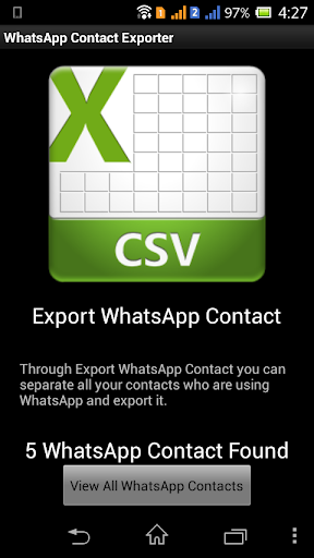 WCE Contacts Export Pro