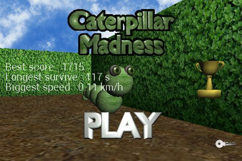 Caterpillar Madness- screenshot
