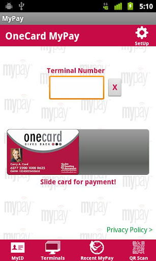 OneCard MyPay