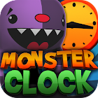 Crazy Monster Clock icon