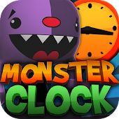 Crazy Monster Clock