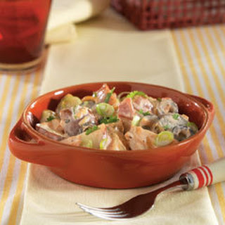 Creamy Salsa Potato Salad.