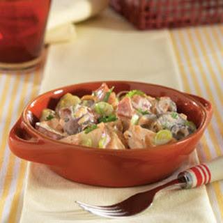 Creamy Salsa Potato Salad.