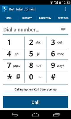Bell Total Connect Mobile - screenshot