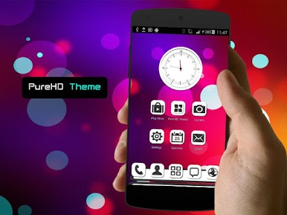 玩個人化App|PureHD Next Launcher 3D Theme免費|APP試玩