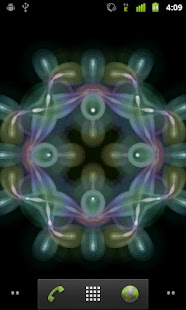Glow Kaleidoscope LiveWallpape- screenshot thumbnail