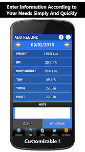 Weigh-In Deluxe Weight Tracker- screenshot thumbnail