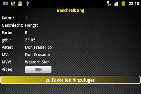 Fohlenauktion Luhmühlen 2017- screenshot