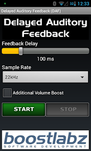DAF Delayed Auditory Feedback- screenshot thumbnail