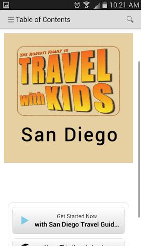 kApp - Travel Kids San Diego