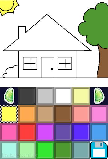 简易填充着色游戏