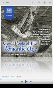 Great Romantic Poets - screenshot thumbnail