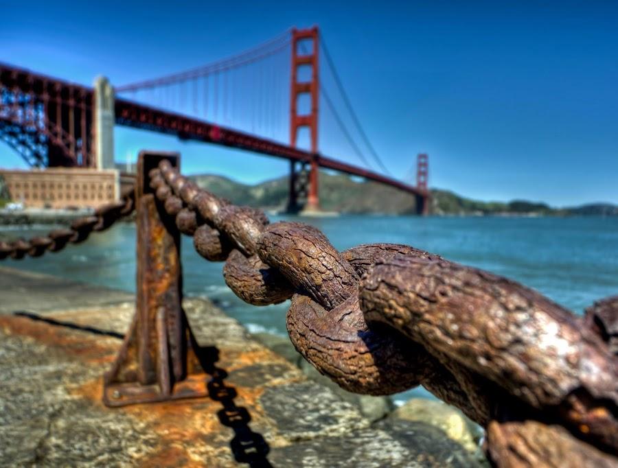 Golden Gate Bridge by Sean O'Rourke - Landscapes Travel