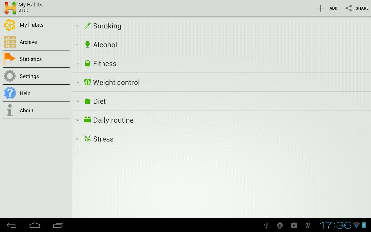 Habitizer. Habit Organizer - screenshot