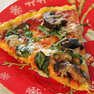 Spaghetti Squash Crust Pizza