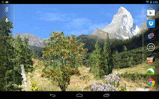Screenshot of Mountains Live Wallpaper