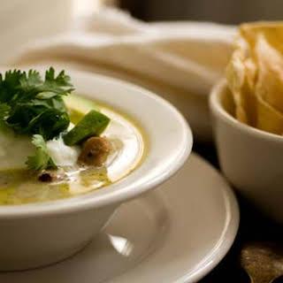 Turkey Enchilada Verde Soup.