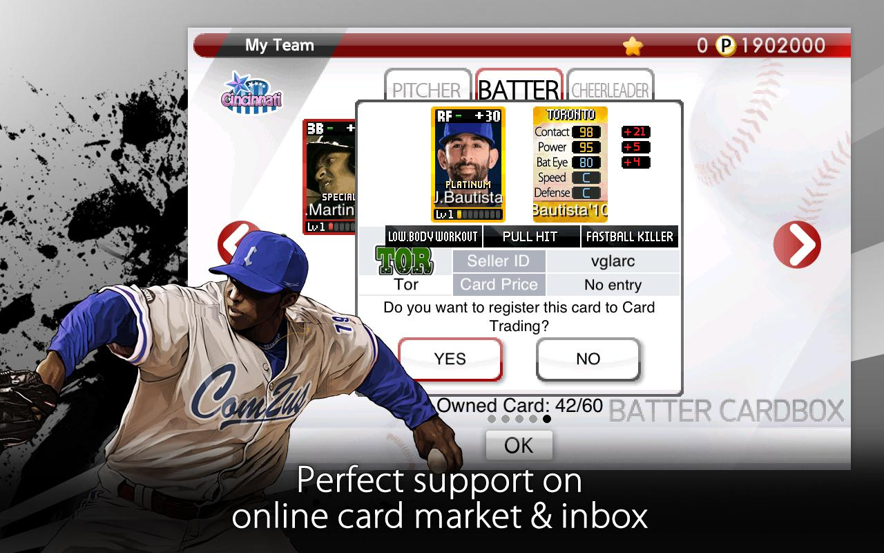 9 Innings: 2013 Pro Baseball - screenshot