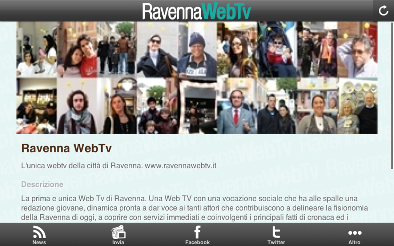 RavennaWebTv- screenshot