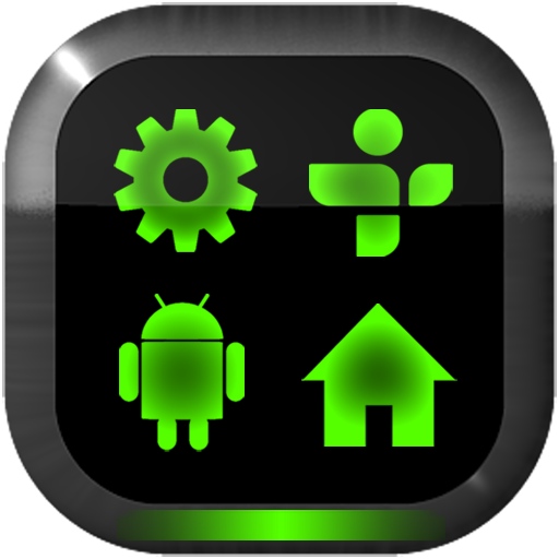 Neon Green GO Launcher Theme LOGO-APP點子