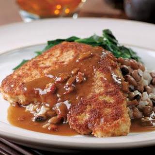 Chicken-Fried Turkey Cutlets with Redeye Gravy.