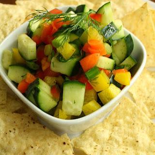 Chunky Cucumber Salsa