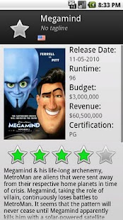 The Movie Database- screenshot thumbnail